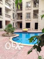 Flat 2 Bed in Compound Opposite to Hilton Plaza - Installment