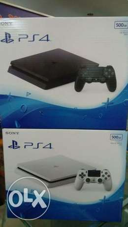 Ps4 slim 500 and 1tr