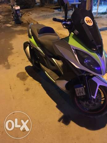 kymco 400i exciting