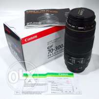 Canon Lens 70-300 MM Full Frame IS USM New with Box