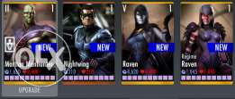 Injustice gods among us mobile account