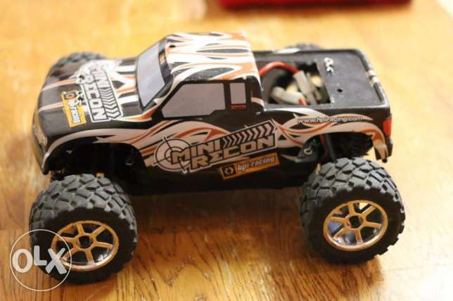 remote control 1/18 USED RC HPI Mini Recon not toy car
