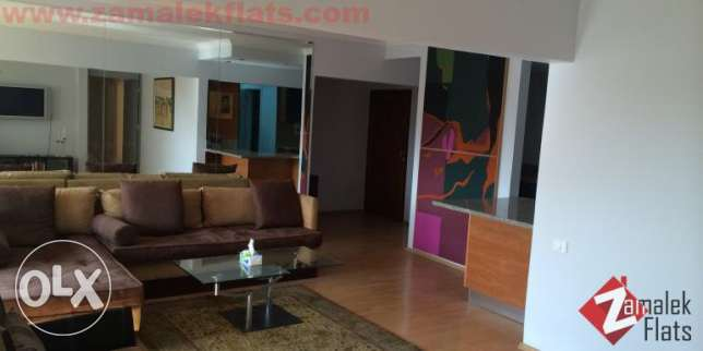 nile view apartment for rent in Zamalek الزمالك -  3