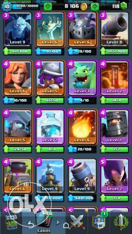 Arena 10 Clash royale account مصر الجديدة -  5