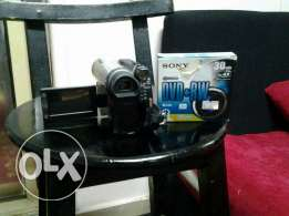 DVD camcorder first use