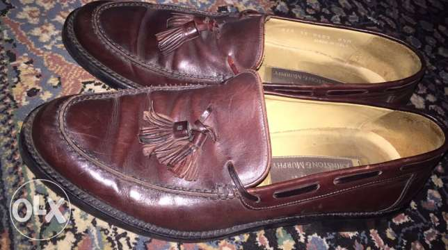 shoes Johnston Murphy made in Italy