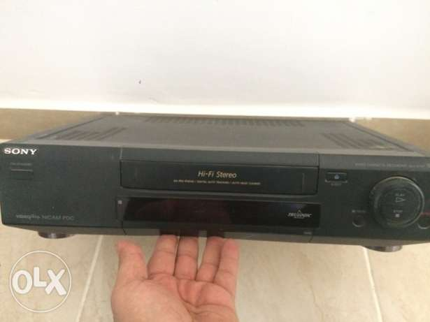 Sony video cassette player