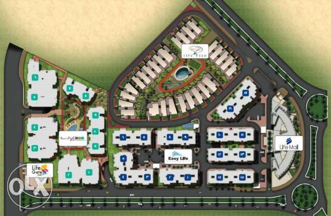 10% down payment hypermarket Nearby AUC ِ& Concord in fifth settlement