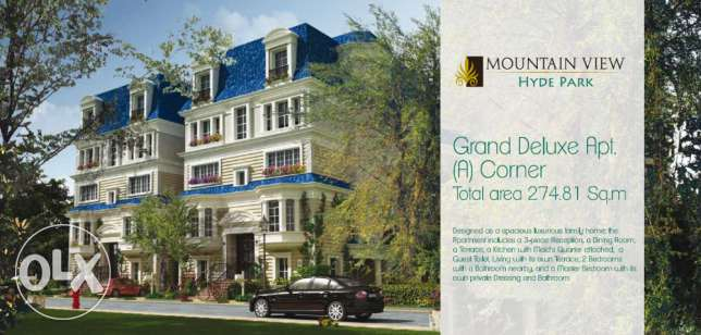 Mountain view Hyde park Luxurious Apartment Corner for sale