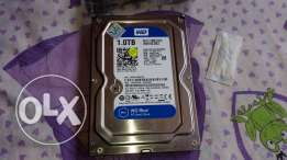 هارد western digital blue 1tb واحد تيرا
