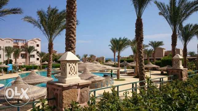 2-bedrooms Flat with private garden, sea and pool view الغردقة -  1