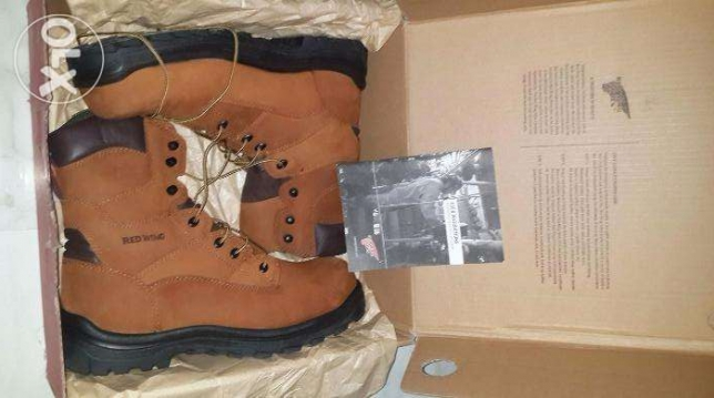 Red Wing original safety high neck