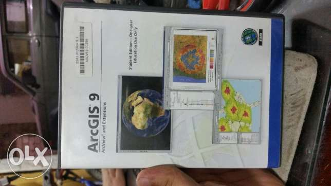ESRI ArcGIS 9.1 Original Cd with serial for sale