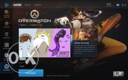 PC Overwatch Account for Sale 600 EGP