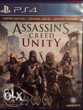 Assassin's creed Unity for PS4