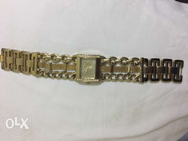 Golden Hand Watch by Guess