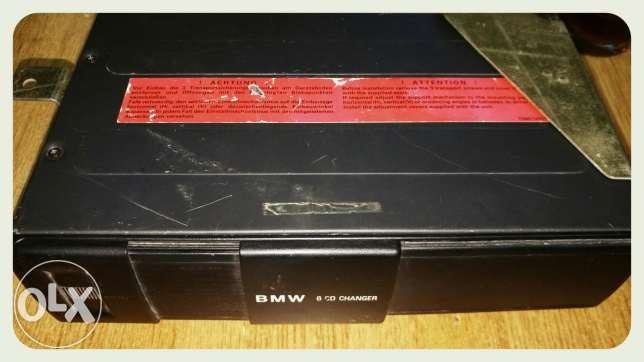 BMW CD Changer 6CD ..E39