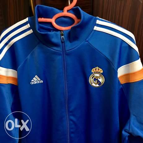 adidas jacket real madrid new xxl 2xl حلوان -  1