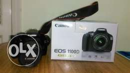 For sale Canon 1100d with lens 18-55
