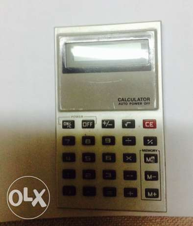 small calculator made in Japan