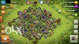 107-full town 9 clash of clans account
