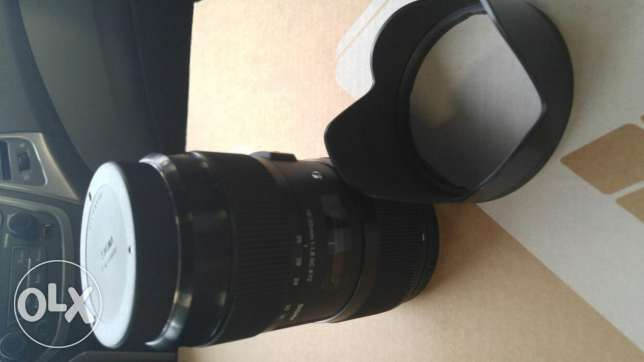 Sigma 18mm 35mm f1.8 lens for canon