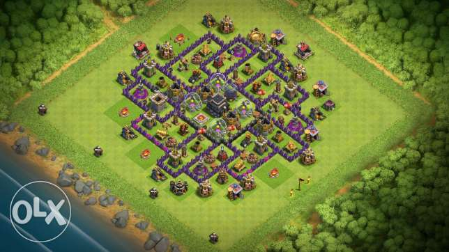 Clash Of Clans Th9 For SALE