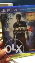 uncharted 4 with codes ps4 cd