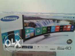 شاشة جديدة:SAMSUNG LED 40inch CURVED SMART Full HD