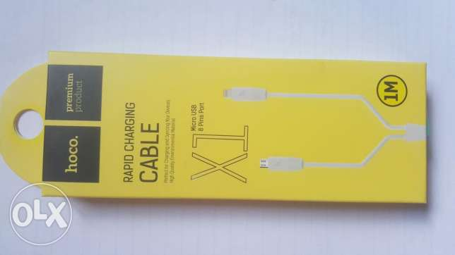 Hoco x1 cable for Samsung and iphone
