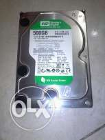 HDD 500G wd