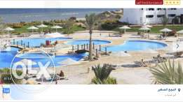 chalet villa for rent in three corners Equinox marsa alam