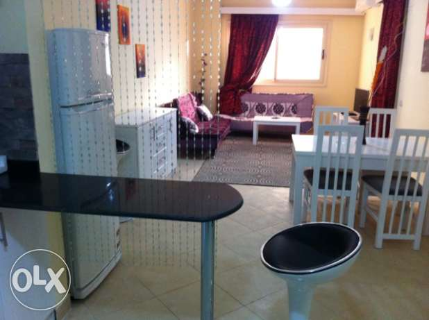 One bedroom apartment for rent in Compound with pools.Florenza Khamsin