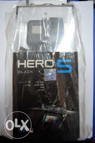 gopro hero 5 new sealed from dubai + 1 year gura