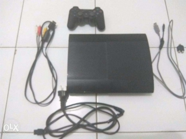 Ps3 Superslim 500Gb + 3 Cds + Bag