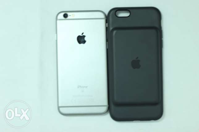 iphone 6s 128 GB with smart battery