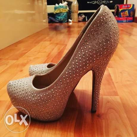 Shoes Size:39 Color:silver