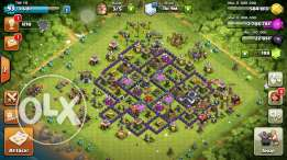 Clash Of Clans Town Hall 9 Account Almost Max