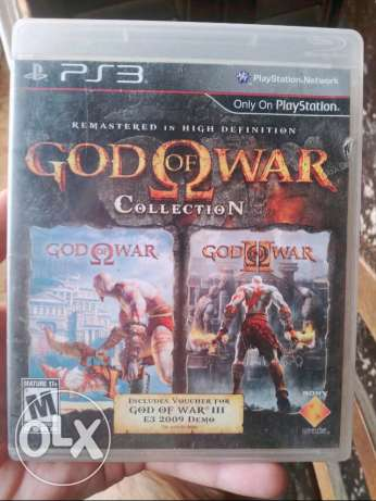 PS3 God of War collection 1 & 2 for sale