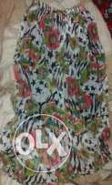 Multi color skirt with diffrent style
