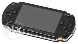 Play station Portable +adaptor + memory card 8 giga