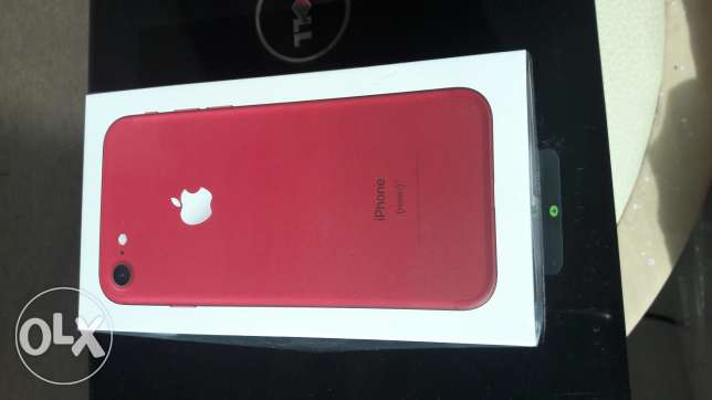 Iphone 7 RED 128GB sealed