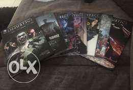 Injustice Comics the 4 years