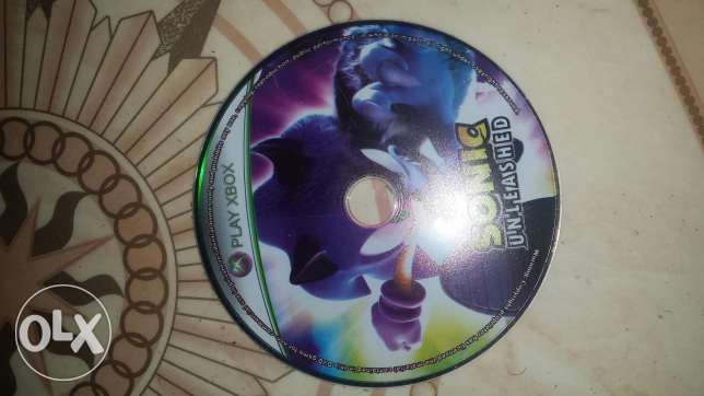Sonic Unleashed XBOX