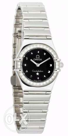 Omega constellation my choice lady watch with diamond