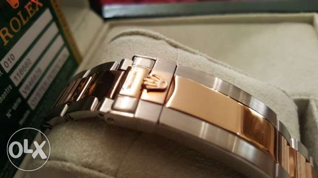 The Only Rolex-Yacht-M2 rose gold with Int. national Guarantee القاهرة -  5