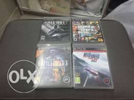 Gta V ,Bf3,COD Ghosts and need for speed rivals