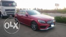 C180 AMG,One of 10 in Egypt Hyacinth Red color,w/Full insurance , وكيل