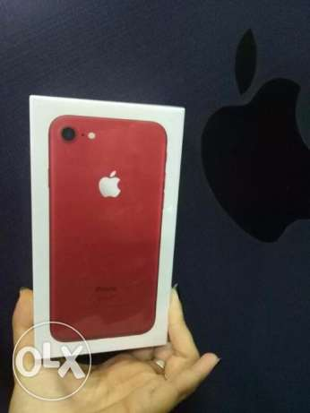 iphone 7 /*128*/ Red (new جديد متبرشم)