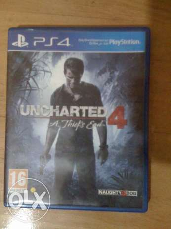 uncharted 4 a thief's end ps4 - arabic